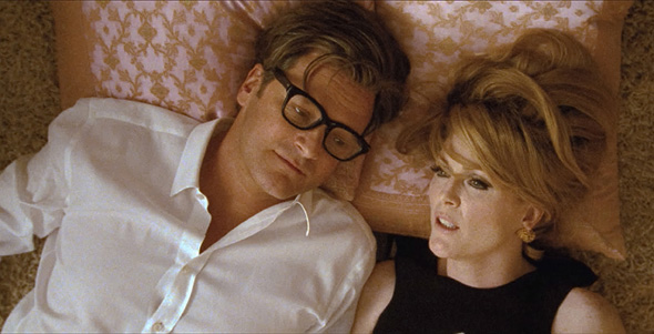 "Colin Firth and Julianne Moore at ""A Single Man"""