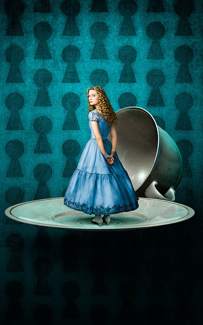 "Alice from ""Alice in Wonderland"" by Tim Burton"