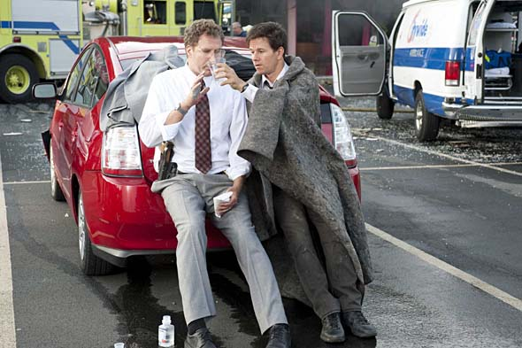 Will Ferrell, Mark Wahlberg in The Other Guys