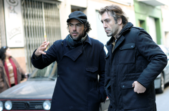 Iñárritu and Javer Bardem